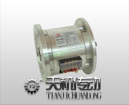 雙法(fa)蘭(lan)電磁離(li)合剎車器組合TJ-POH型